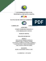 GRUPO1 4-1 FIJACION DE PRECIOS
