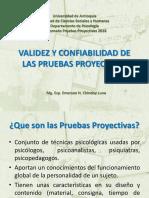 2. Validez y Confiabilidad de Las Pruebas Proyectivas 2017