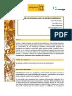 MODELO DE AUTORREGULACION Y EL APRENDIZAJE MATEMATICO