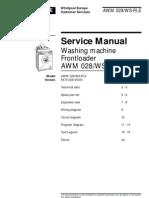 Whirlpool AWM028 Washing Machine