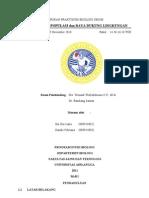 Laporan Praktikum Ekologi Umum Paramecium