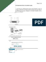 Configurar un router con modem ADSL - ACA