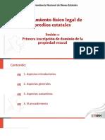 1. inmatriculacion de La Propiedad Estatal