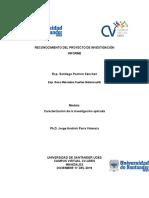 Actividad II Módulo Caracterización de la investigación aplicada.