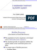 Industrial Waste Water Treatment by Biofilm System