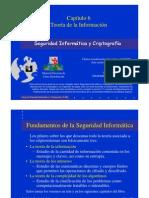 Seguridad Informática y Criptografía. Teoría de la Información