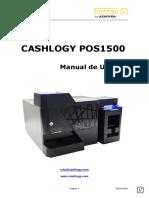 CASHLOGY POS1500 EURO_ Manual usuario v3_ES