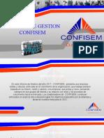 Informe de Gestion Confisem