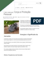 Tudo sobre a Hematita - Significado, Energias e Forma de Uso