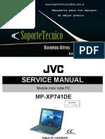Jvc Mini Note Mp-xp741de