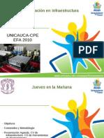 Formacion en Infraestructura-efa2010