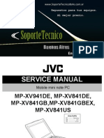 Jvc Mini Note Mp-xv941de 841de 841gb 841gbex 841us