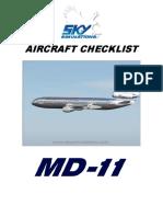 SkySim_MD11_Checklist
