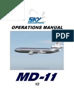 SkySim_MD11_Operations Manual