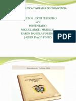 CONSTITUCION POLITICA y NORMAS DE CONVIVENCIA
