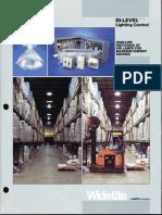 Wide-Lite Bi-Level Lighting Control Brochure 1994