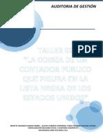 TALLER 02 LA ODISEA DE UN CONTADOR PUBLICO