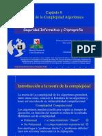 Seguridad Informática y Criptografía. Teoría de la Complejidad Algorítmica