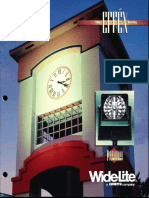 Wide-Lite Effex Series Floodlight Brochure 1994