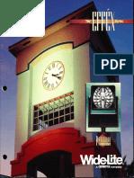 Wide-Lite Effex Series Floodlight Brochure 1995