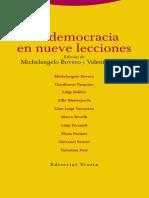 La democracia en nueve lecciones (contenido)