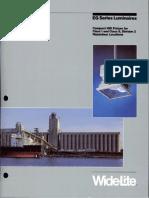 Wide-Lite EG Series Hazardous Brochure 1984