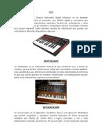 DEFINICIONES MUSICALES