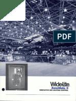 Wide-Lite ZoneMate II Dimming Application Brochure 1988