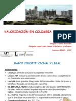 Valorización en Colombia