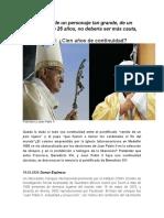 !00 años de Continuidad Juan Pablo II