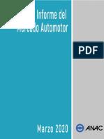 INFORME DE MERCADO AUTOMOTOR ANAC MARZO 2020