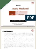 Encuesta Nacional - Julio 2020