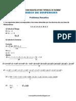 Matematica5 Semana 13 Guia de Estudio Medidas de Tendencia Central y Dispersion Ccesa007