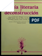 ASENSI M (sel) - Teoria literaria y deconstruccion-2.pdf