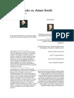 David Ricardo vs smith