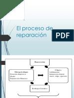 El proceso de reparación