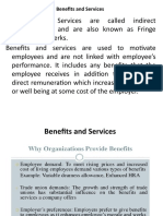 Unit 8 Benefits and services Saftey Separation