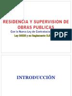 RESIDENCIA Y SUPERVISION DE OBRAS.pptx