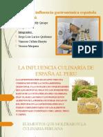 LA INFLUENCIA CULINARIA DE ESPAÑA AL PERU