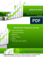 4. MEDIDAS DE TENDENCIA CENTRAL (1)