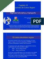 Seguridad Informática y Criptografía. Aplicaciones de Correo Seguro