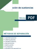 Metodos Fisicos de Separacion de Mezclas 4a