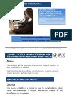 18 - Beneficio a los empleados y de retiro (NIC 19 y 26)