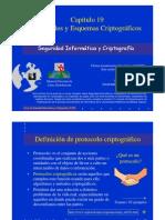 Seguridad Informática y Criptografía. Protocolos y Esquemas Criptográficos