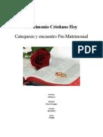 Matrimonio Cristiano Hoy