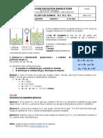 GUIA 4 1P 10° GASES IDEALES-L. AVOGADRO
