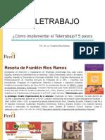 Teletrabajo, DR. Franklin Rios