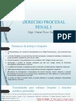 Derecho Procesal Penal Parte i