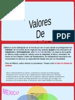 VALORES DE MEXICO