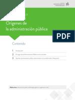 Escenario III pensamiento administrativo